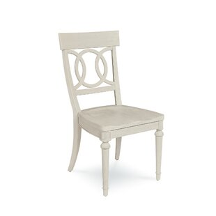 Carrie Wood Dining Chair (Set of 2) One Allium Way