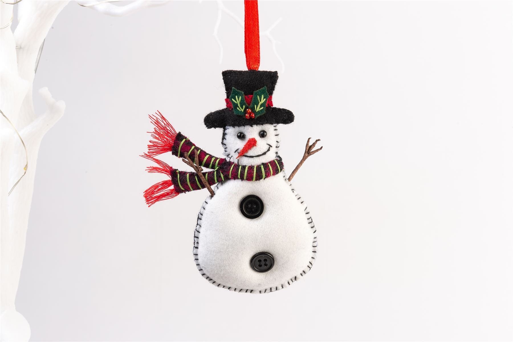 The Seasonal Aisle Snowman Christmas Tree Hanging Figurine Ornament Wayfair Co Uk