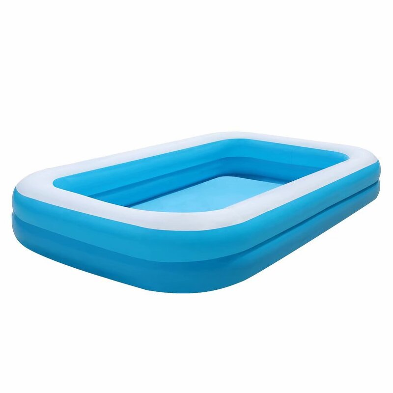 American Phoenix Large Family Inflatable Swimming Pool For 1 7 People Thickened Abrasion Resistant Inflatable Pool With Inflator Wayfair Ca
