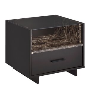 Whitacre 1 Drawer Nightstand by Orren Ellis Herry Up