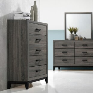 Javen 5 Drawer Chest by Union Rustic
