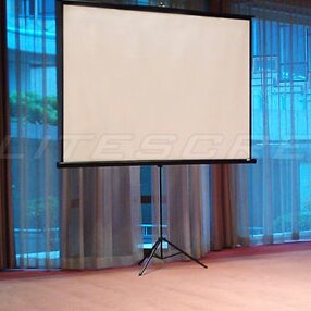 Tripod Series White Portable Projection Screen by Elite Screens Spacial Price