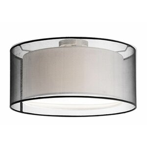 Hailey 2-Light Semi Flush Mount