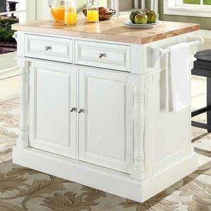 Kitchen Island 60 X 40 butcher block island & counter tops you'll love | wayfair