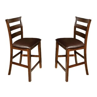 Whisenhunt 24 Bar Stool (Set of 2) Millwood Pines