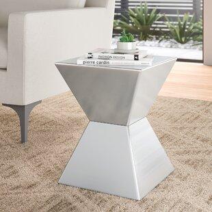 Modern Block End Side Tables Allmodern
