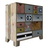 Genrich 14 Drawer Apothecary Accent Chest by Bloomsbury Market