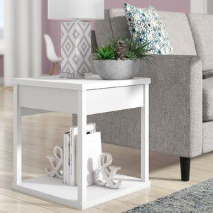 Maxon End Table With Storage Wrought Studio