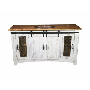 Heyward 79″ Single Sink Bathroom Vanity