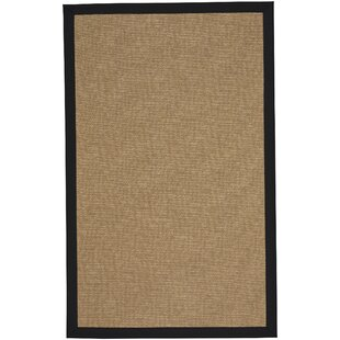 Gresham Agave Braided Ebony Tan Indoor/Outdoor Area Rug