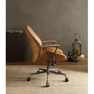 Ahmad Top Grain Leather Office Chair