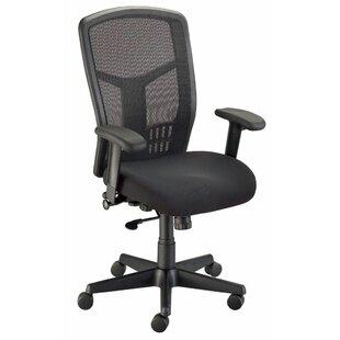 Van Tecno Ergonomic Mesh Task Chair by Alvin and Co. Bargain