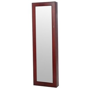 Berger Over the Door Jewelry Armoire with Mirror