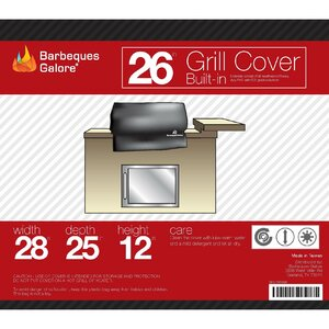 Grand Turbo Grill Cover - Fits up to 26