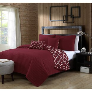 Hocking 5 Piece Reversible Quilt Set