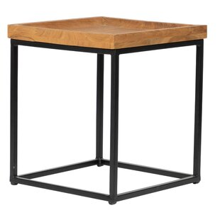 Great Price Biwabik End Table by Foundry Select