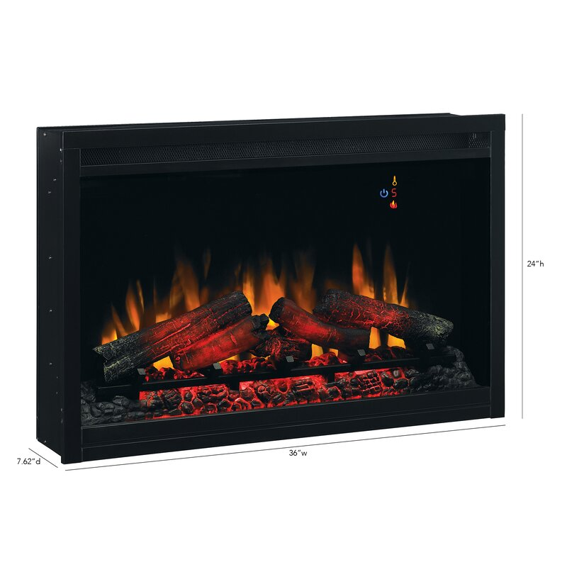 winston porter banning traditional wall mounted electric fireplace rh wayfair com 36 x 30 electric fireplace insert 36 inch electric fireplace insert canada