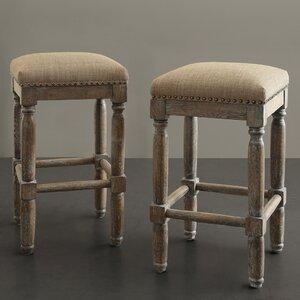 Remarkable Laurel Foundry Modern Farmhouse Remy 26 Bar Stool Spiritservingveterans Wood Chair Design Ideas Spiritservingveteransorg