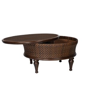 North Shore Round Storage Coffee Table