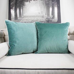 Catanzaro Velvet Throw Pillow