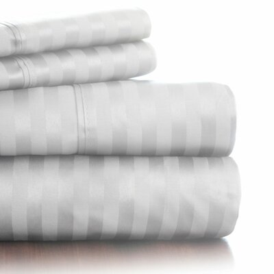Lavish Home 300 Thread Count Cotton Sateen Sheet Set