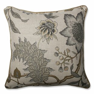 Jacobean Flair Vermeil Throw Pillow