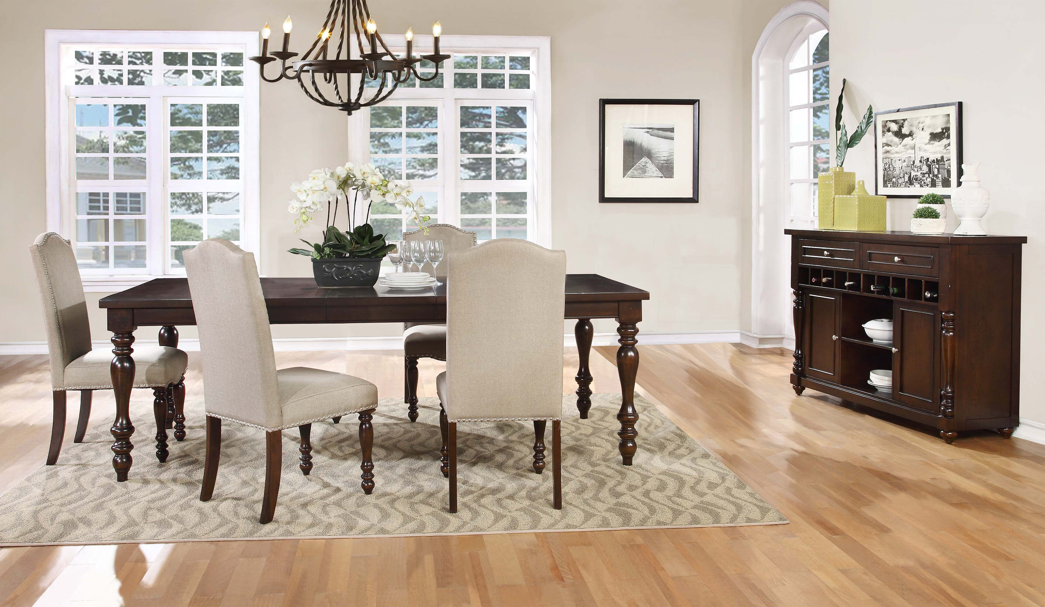 Fine Theo 5 Piece Solid Wood Dining Set Gmtry Best Dining Table And Chair Ideas Images Gmtryco