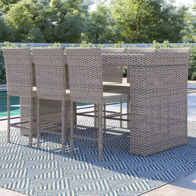 Everton 7 Piece Bar Height Dining Set by Sol 72 Outdoor Spacial Price
