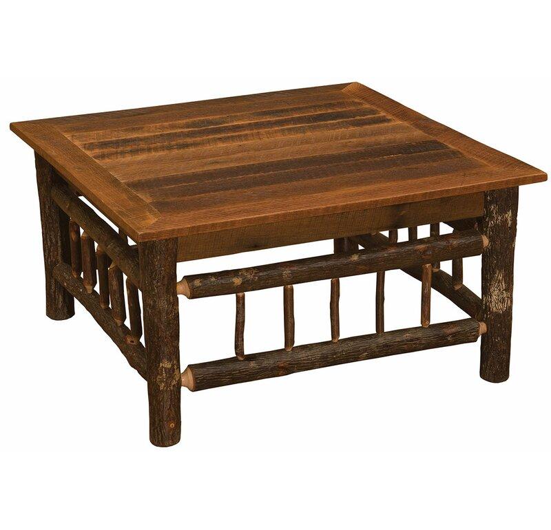 Incroyable Hickory Coffee Table