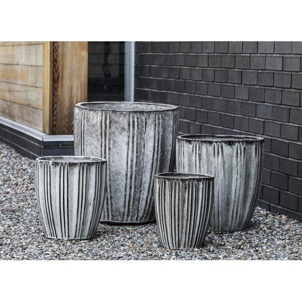Campania International Inc Lucien 4 Piece Terra Cotta Pot Planter Set Wayfair