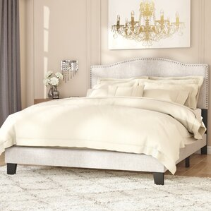 bradley upholstered panel bed