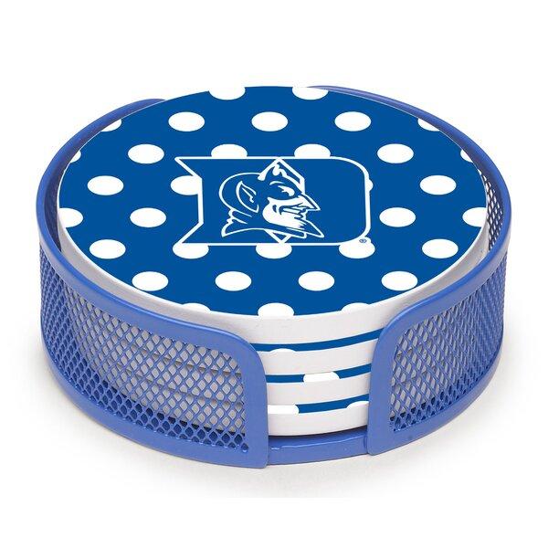 Thirstystone Duke University Cork Coaster Set