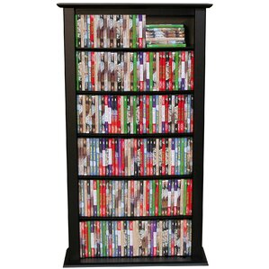 Regular Single Multimedia Storage Rack by Rebrilliant