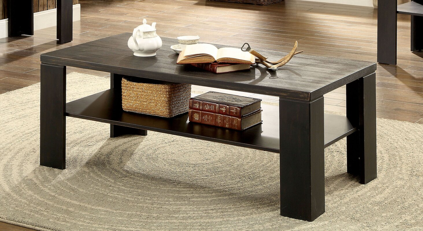 Transitional coffee table - Kristle Transitional Coffee Table