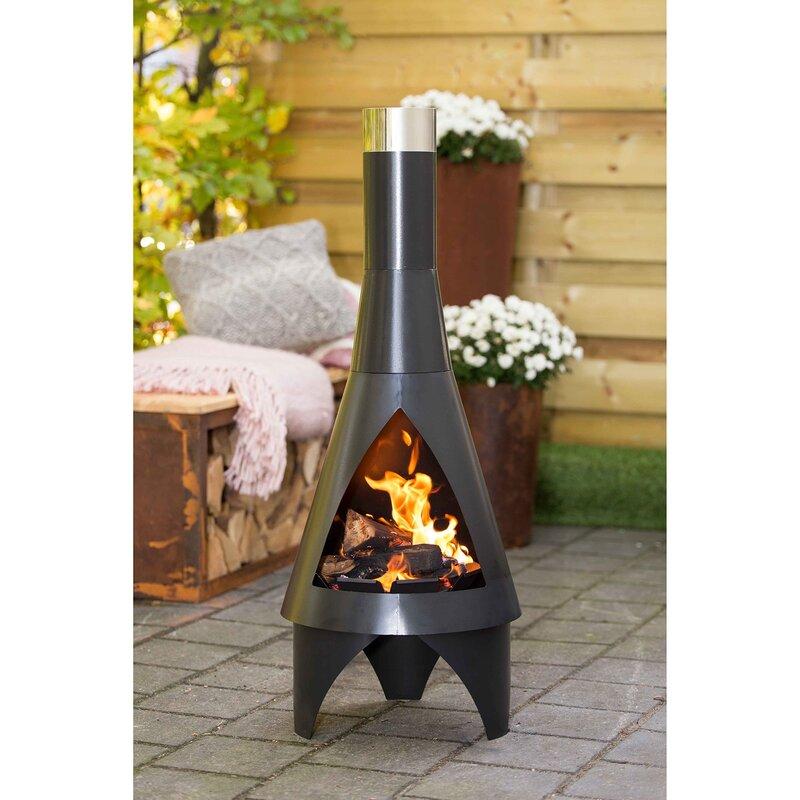 Wayfair Outdoor Fireplace - Caldwellcountytxoem.com on Quillen Steel Wood Burning Outdoor Fireplace id=75770
