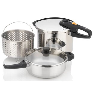 Duo 5 Piece Pressure Cooker Set