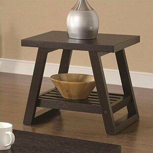 Renetta Transitional Solid End Table