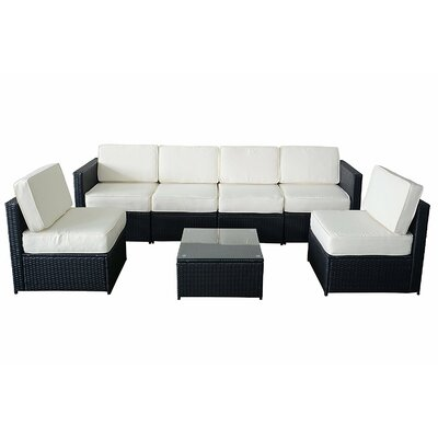 Ivy Bronx Alvin 5 Piece Sectional Set with Cushion