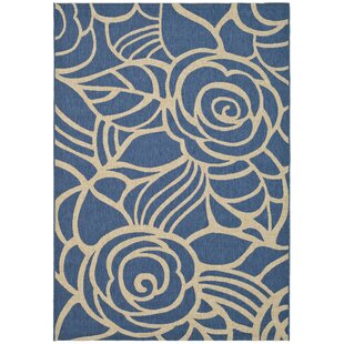 Laurel Blue/Beige Indoor/Outdoor Area Rug