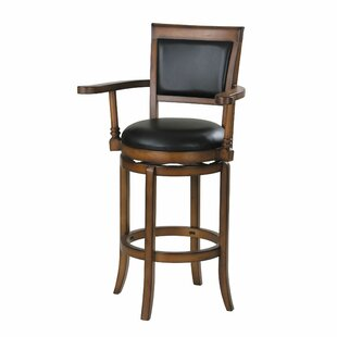 Spann 30 Swivel Bar Stool by Loon Peak