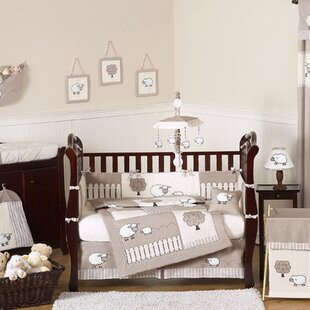 Reviews Little Lamb 9 Piece Crib Bedding Set By Sweet Jojo Designs