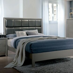 Grisha Contemporary Panel Bed by Wrought Studio