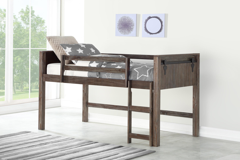 Ivanna Twin Low Loft Bed
