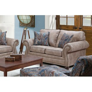 Shop Burson Loveseat by Fleur De Lis Living