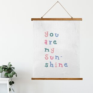 You Are My Sunshine Tapestry Wayfair