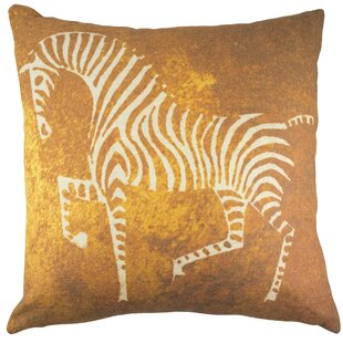Zebra Throw Pillow Wayfair