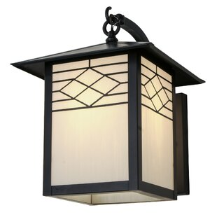 Best Price Alper Outdoor Wall Lantern By Bloomsbury Market