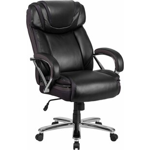 Best Reviews Mccranie Executive Chair by Latitude Run