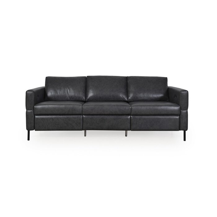 Outstanding Belvidera Leather Reclining Sofa Andrewgaddart Wooden Chair Designs For Living Room Andrewgaddartcom