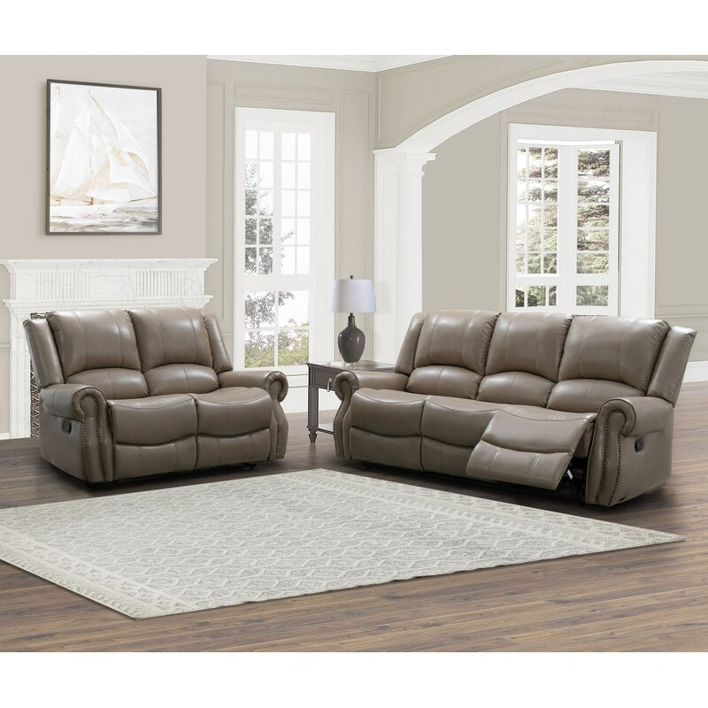 Red Barrel Studio Digiovanni 2 Piece Reclining Living Room Set Wayfair